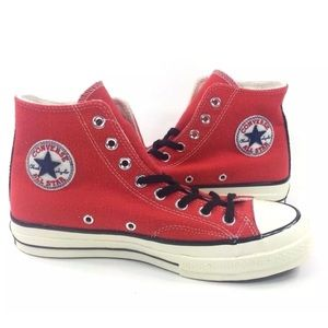 NEW Converse Chuck Taylor 70 Hi Shoes Sneakers Red